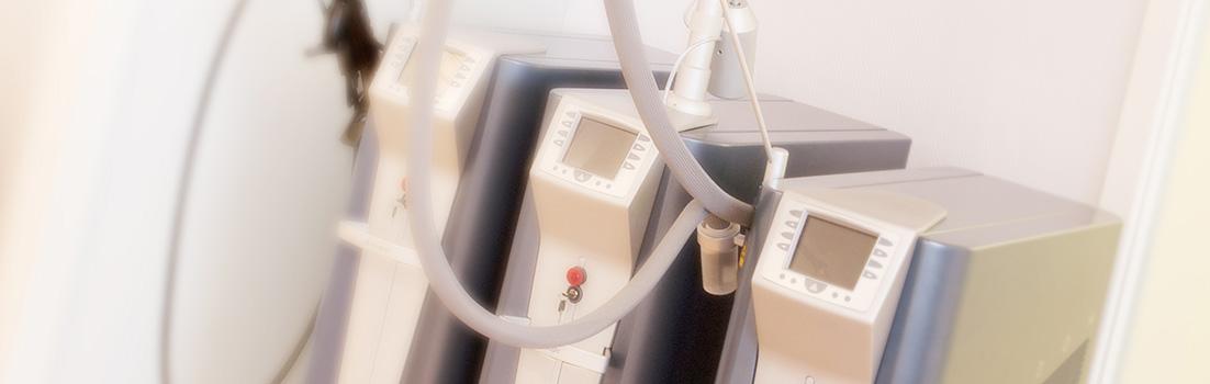 Lasertherapie in der Hautarztpraxis Dr. Besing in Gauting