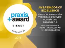Praxis+Award Qualitätssiegel Sieger 2018